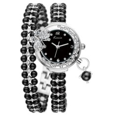 Cucol New Luxury Women Watch Fashion Style Full Rhinestone Analog Display Quartz Watch Women's Wristwatch