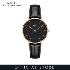Daniel Wellington Classic Petite Reading Black Watch 32mm-Rose Gold
