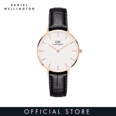 Daniel Wellington Classic Petite Reading White Watch 32mm-Rose Gold