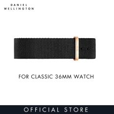 Daniel Wellington Watch Band Classic Black NATO 18mm