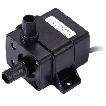 DC 12V Waterproof Cooling Brushless Water Pump (Black) - intl