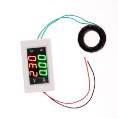 Digital Volt Ampere Amp Meter Voltmeter Guage AC 100-300V / 200A White (Intl)