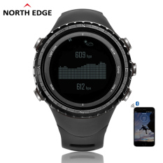 Digital Watches Men Watch With Compass Altimeter Barometer Thermometer Altitude For Mountaineering Climbing Hiking Fishing Running Outdoor Sports Waterproof 50m