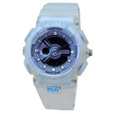Digitec - DG2065L - Jam Tangan Wanita - Strap Karet - Putih
