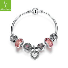 DIY Heart-shaped Beaded Bracelet Bracelet Bracelet PA3805