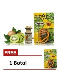 D'one Parfum Gantung Car & Homme D'one Aroma Fresh Kiwi + Get 1 Free