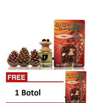 D'one Parfum Gantung Car & Homme D'one Aroma Pine + Get 1 Free