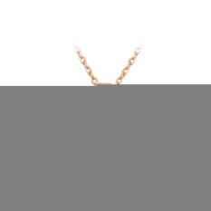Elegant Fashion Women Charm Lady Jewelry Pendant Antique Rose Gold Elegant Pendant (Intl)