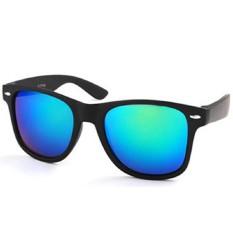 ELENXS Mirrored Sunglasses Uv400 Mens Womens Unisex Cool Shades Blue