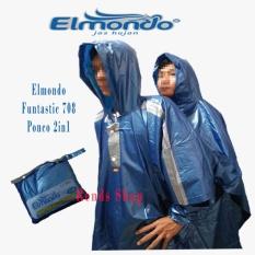 Elmondo Funtastic 708 - Ponco 2 in 1 - Dua Kepala - BIRU