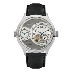 Elysee Male Watches Ko 2 Jam Tangan Pria - Grey - Strap Leather Strap - 80525