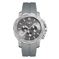 Elysee Male Watches Qualified Jam Tangan Pria - Abu-Abu - Strap Silicon Strap - 48001