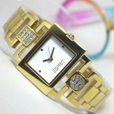 Esprit jam tangan wanita Fashion Exclusive dan Casual - Stainless Steel