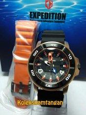 Expedition 6711 Rose Gold - Jam Tangan Pria - Jam Tangan Sport - Karet - Rubber - Rose Gold
