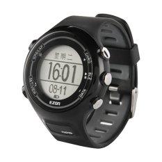 EZON E1A11 New Arrivel Black Outdoor Running GPS Bluetooth Smart Sport Watch (Intl)