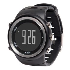 EZON High Quality Multi-functional Outdoor Sports Watch High-end 5ATM Water Resistant Man Wristwatch With Function Of Calendar Alarm Hourly Chime Speed Measure Step Calculation Calorie Counter BMI Index