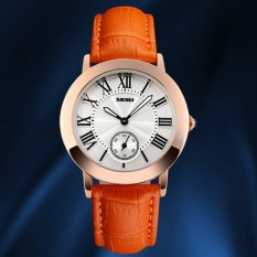 Fashion And Simple Style Ladies Watch (Orange)