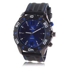 Fashion Brand Sport Watch Men 2016 Silicone Strap Men's Watches Famous Brand Logo Quartz Watch Clock Male - Intl