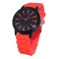 Fashion Candy Color Silicone Watch Gift