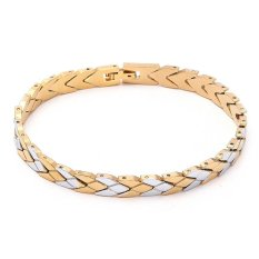 Fashion Jewelry Cuban Link Bracelet For Women / Men Wholesale Price High Quality 18K Yellow Gold Filled Bracelet Chain B68 (Intl)