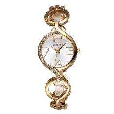 Fashion Ladies Luxury Gold Quartz Wristwatches Women Famous Brand Rhinestone Watches Clocks Women Watchwoman