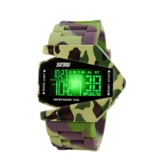 Fashion Sports Man Wrist Watch Outdoor Sports Watches 0817B Multicolor (Intl)