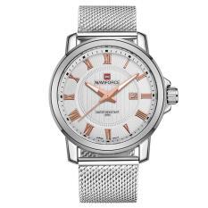 Foorvof Foreign Trade New NAVIFORCE Sports Watch With Calendar Watch Men Lxy Waterproof Watch Stainless Steel Mens