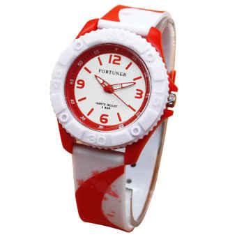 Fortuner Jam Tangan Wanita - Rubber Strap – FR 876RNY Putih