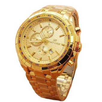 Fortuner Jam Tangan Wanita - Staibless Steel - Gold - Fr K410 Gold