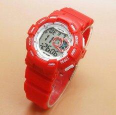 Fortuner Sport Digital - FR 1326 Red - Jam Tangan Wanita - Karet