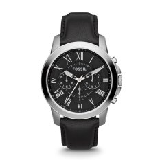 Fossil Jam Tangan Pria - Stainless - Hitam - Fossil FS4812