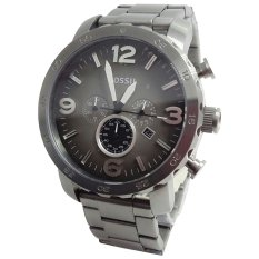 Fossil JR1491-C Jam Tangan Pria Stainless Steel Hitam Silver