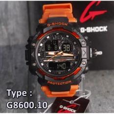 G Shock Casio G8600 Dual Time Digital Analog Jam Tangan Pria