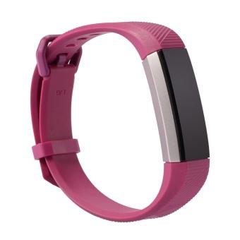 GETEK Fitbit Alta HR Band Secure Strap Wristband Buckle Bracelet Fitness Tracker Size:S - intl