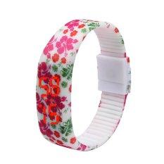 Girl Sports Silicone Digital LED Sports Bracelet Wrist Watch