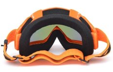 Goggle Racing Motocross KTM Pelangi Google Orange Rainbow