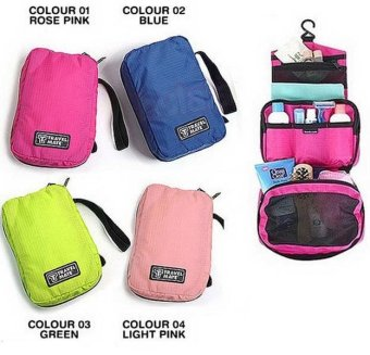 Gogo Travelmate Toiletries Organizer - Tas Kosmetik Travel - Random Colour