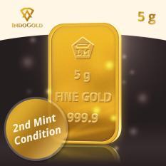 Gold Antam Emas Logam Mulia 5 Gram Tahun 2011- 2015