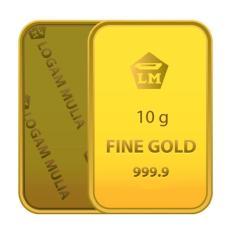 Gold - Emas 10 Gram - Logam Mulia 999.9 Sertifikat Antam
