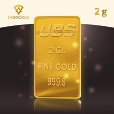 Gold Logam Mulia Emas UBS Untung Bersama Sejahtera 2 Gram