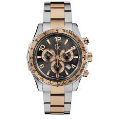 GUESS COLLECTION Gc TECHNOSPORT X51004G5S - Chronograph - Jam Tangan Pria - Stainless - Silver -