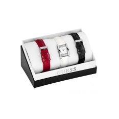 Guess W0295L1 Boxset - Jam Tangan Wanita - Putih - Kulit