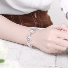 H377 Latest Women Classy Design Silver Plated Bracelet (Intl)