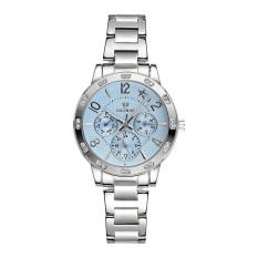Hazyasm Skone Brand Waterproof Watch Fashion Personality Really Three Stainless Steel Table Watch