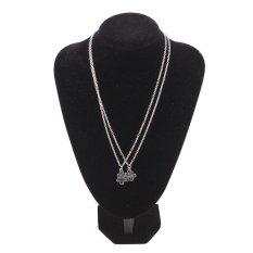 High Quality Store New 2x Best Friend Friendship Puzzle Heart Love Silver Pendant Couple Necklaces Set