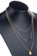 HKS Women Multilayer Necklace Gold (Intl)
