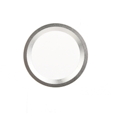 HomeGarden Car Steering Wheel Center Ring Cover Decoration For BMW (Silver) (Intl)
