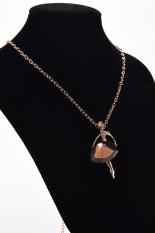 HomeGarden Women Chain Necklace Ballerina Dancer Champagne