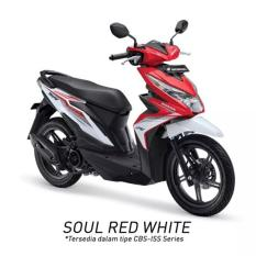 Honda - Beat Sporty CBS ISS - Soul Red White