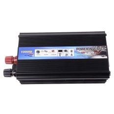 HOT-A1-0001.1000W Car Vehicle USB DC 12V To AC 220V Power InverterAdapter Converter (Black)